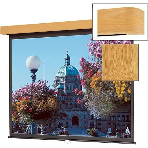 Da-lite Designer Electrol Concord High Power Cherry 84 x 84