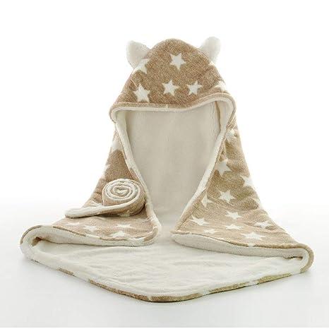 Saco de Dormir Manta Arrullo Envolvente de Invierno para Bebé Recién Nacido Swaddle Wrap Manta para Cochecitos, Cunas, Sillas de Paseo de Bebé, ...