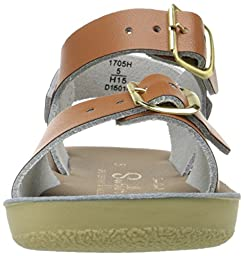 Salt Water Sandal by Hoy Shoes Unisex Sun-San - Surfer (Toddler/Little Kid) Tan Sandal 3 Infant M