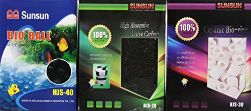 SunSun Canister Filter Media Set product image