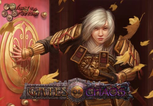 ALDERAC ENTERTAINMENT GROUP Legend of the Five Rings: L5R - Gates of Chaos Booster Tin