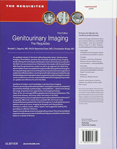 Genitourinary Imaging: The Requisites (Requisites in Radiology)