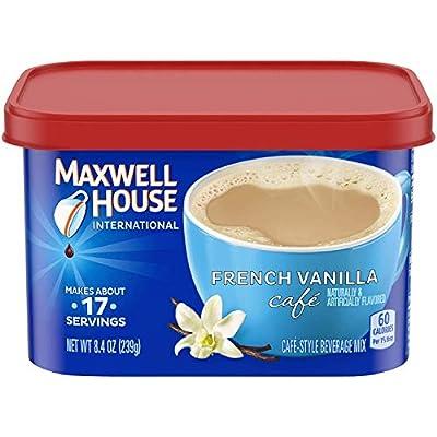 MAXWELL HOUSE International French Vanilla Beverage Mix, 8.4 oz Tub from KraftHeinz