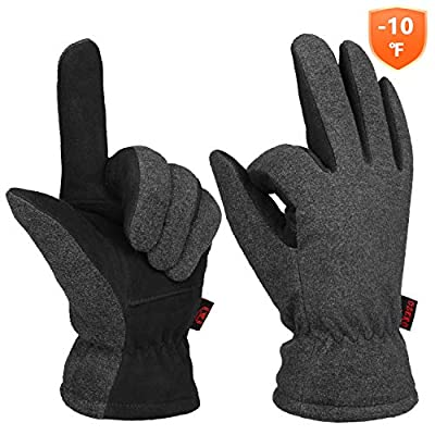 Winter Gloves Deerskin For Men And Women Outdoor Sports Cold Resistance -10?