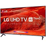 "Smart TV 55"" 55UM7520PSB LG 4K HDR Ativo, ThinQ AI Inteligencia Artificial, DTS Virtual: X"
