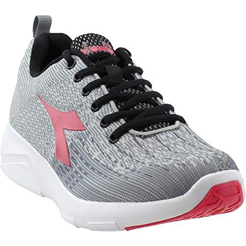 Diadora Womens X-Run 2 Light Running Casual Shoes, Grey, 6.5