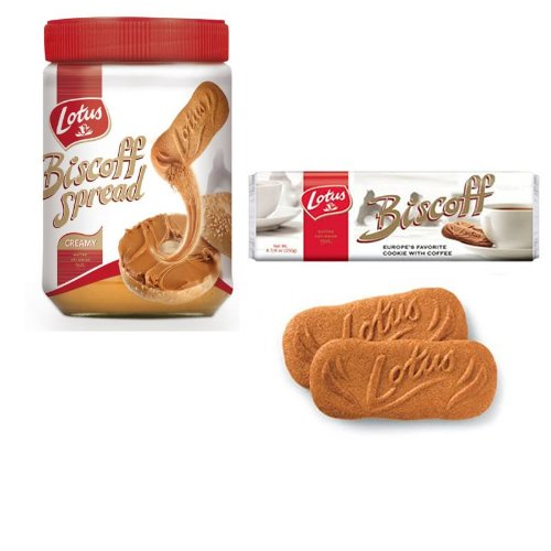 Price comparison product image Biscoff Variety Pack- 14.1oz Smooth Spread and 5 Family Pack Cookies