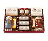 Hickory Farms Holiday Gift Box Summer Sausage Cheese Mints Cracker Set 4.1 Pounds