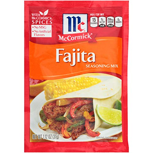 McCormick Fajitas Seasoning Mix, 1.12 OZ ()