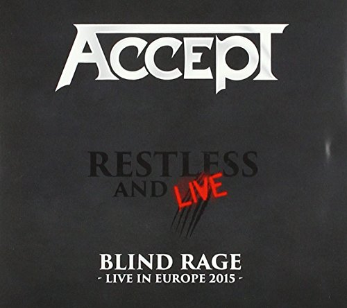 CD : Accept - Restless And Live (With DVD, Digipack Packaging, 3 Disc)