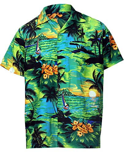Legend Boyfriend Jeans - Virgin Crafts Hawaiian Holiday Shirt for Men's Short Sleeve Casual Beach Shirt