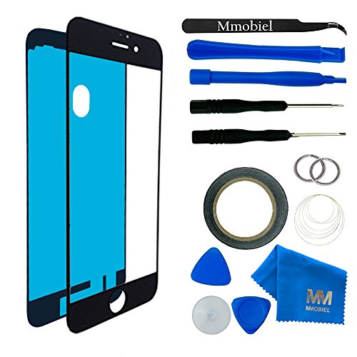 MMOBIEL Front Glass for iPhone 7 (Black) Display Touchscreen for sale  Delivered anywhere in USA