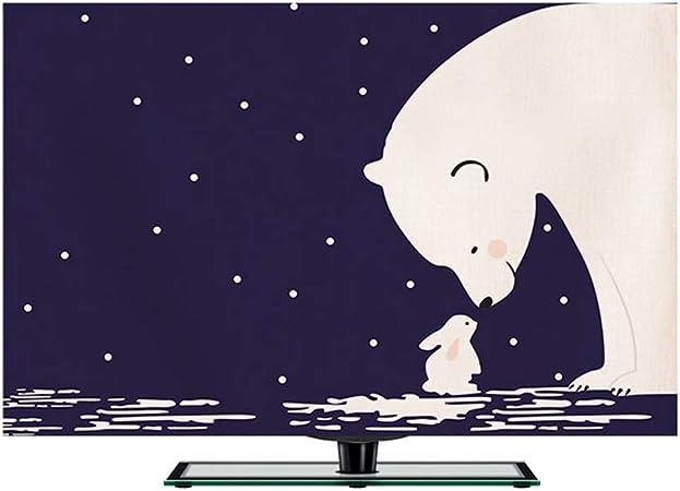 WSWJJXB Conjuntos Simples Cubierta De Polvo Cubierta De Polvo Paño De Dibujos Animados De Televisión Nórdica (Color : D, Size : 27