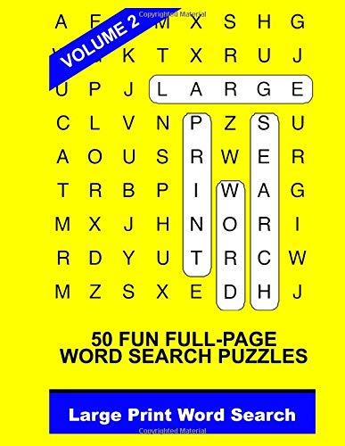 Large Print Word Search Vol. 2 PDF
