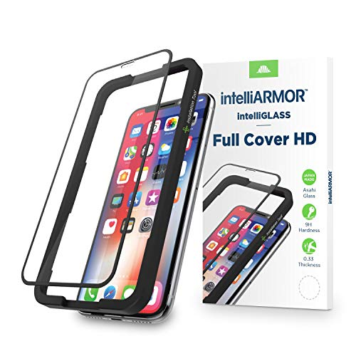 intelliGLASS HD Compatible with both iPhone X and iPhone Xs Glass Screen Protector