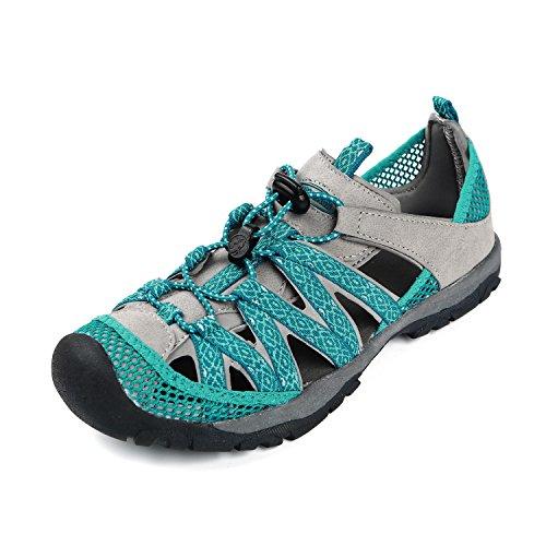 Northside Women's Santa ROSA Sport Sandal, Teal/Gray, Size 10 M US