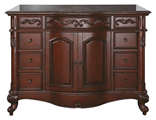 Avanity Provence 48 in. Vanity Only in Antique Cherry finish ()