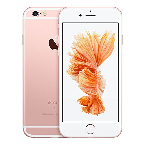 Apple iPhone 6S with FaceTime - 128GB, 4G LTE, Rose Gold