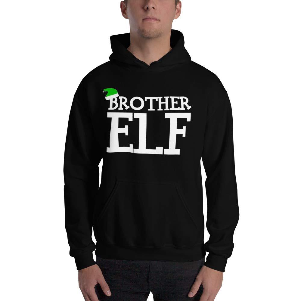 Christmas Big Brother Again Baby Announcement Santa Christmas Hoodies Season elf Santa Brother Big