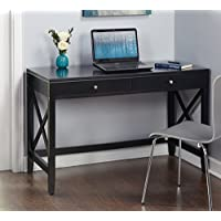 Simple Living Anderson X Desk … (Black)