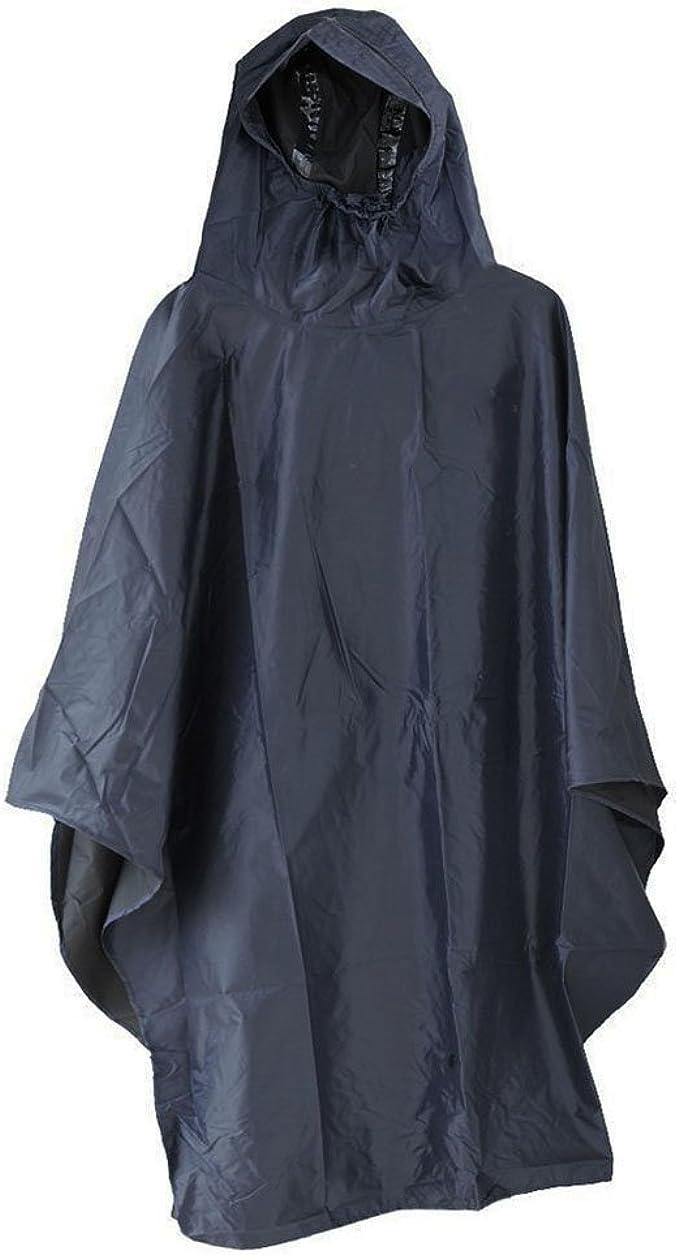 Motorcycle Riding Hooded Rainwear Jacket Bicycle Cycling Raincoat Rain Poncho