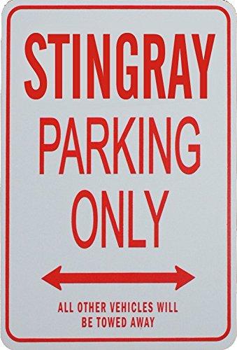 Signes de stationnement STINGRAY - Corvette STINGRAY Parking Only Sign funparkingsigns NPS-STINGRAY