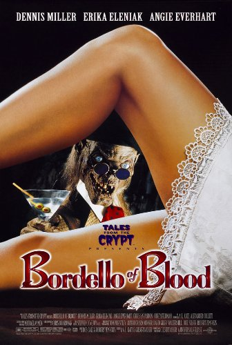 BORDELLO OF BLOOD MOVIE POSTER 2 Sided ORIGINAL 27x40 ERIKA - Originals Erika's