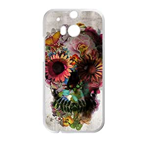 ali gulec skull Phone Case for HTC One M8