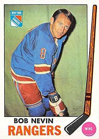 Amazon.com  Hockey NHL 1969-70 Topps  40 Bob Nevin NM NY Rangers ... 21821332f