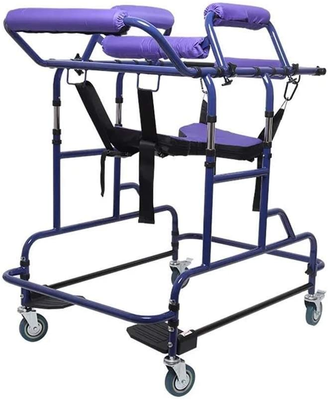 GYW-YW Ancianos Walker Polea, Andador, discapacitados Walker, Acero Inoxidable Polea Walker, Brazo de Soporte Ancianos, Caminar Ayuda Independiente, Ajustable