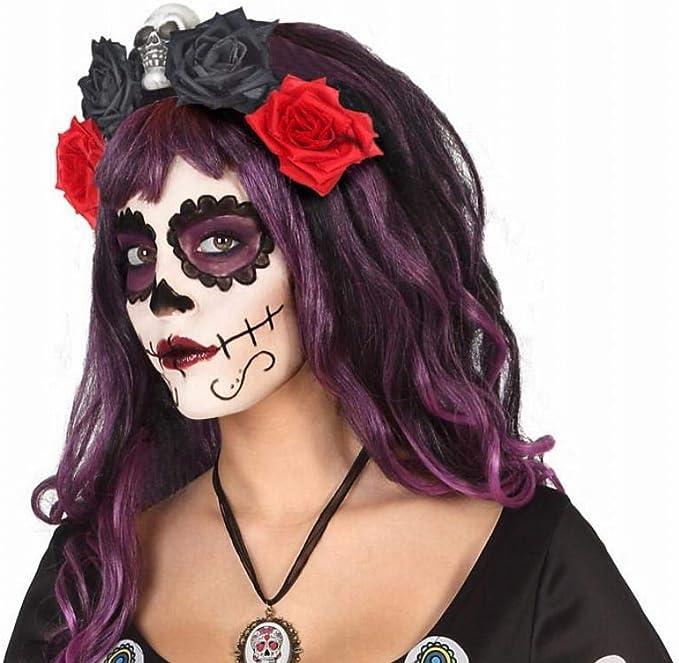 Atosa - Diadema FLores Roja y Negra - AT 39968. - Halloween ...
