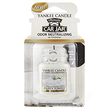 Yankee Candle 1220928 Ultimate Fluffy Odor Neutralizing Towels Car ...