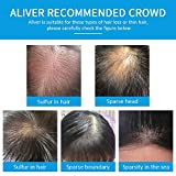 Aliver Hair Fibers for Thinning Hair with Spray