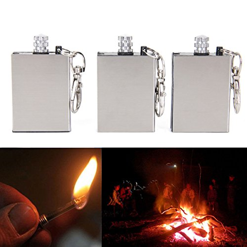 Wireless B/w Wall Clock Camera (Marketworldcup 3Pcs Outdoor Survival Flint Match Emergency Fire Starter Camping Hiking Tool Kit)