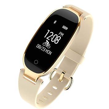 WUDUHUI Montre connectée Montre connectée Bracelet imperméable à leau de santé de Sommeil de