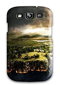 Anti-scratch WonderwallOasis Protective Flat Earth For HTC One M7 Case Cover