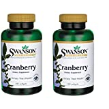 Swanson Cranberry 20:1 Concentrate 180 Sgels 2 Pack For Sale