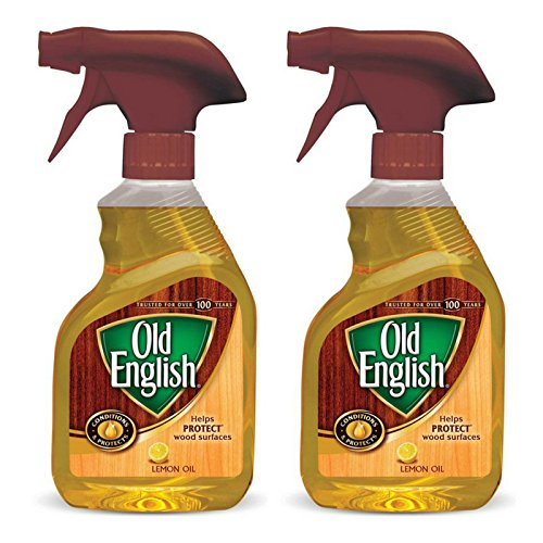 Old English, Lemon Oil, Trigger Sprayer, 12 Ounce (Pack of 2) ()