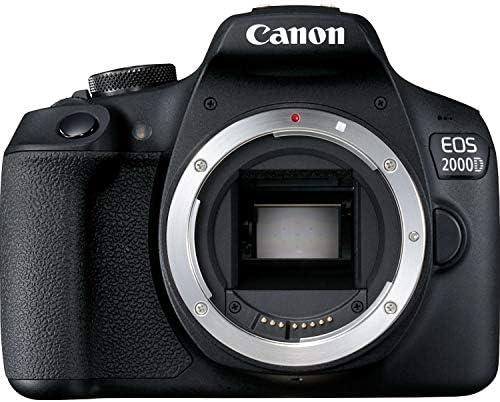 Canon EOS 2000D / Rebel T7 Digital DSLR Camera Body with 24.1MP CMOS Sensor, Built-in WiFi + 18-55mm Lens + Sandisk 32GB SDHC Memory Cards + Accessory Bundle (18-55mm+32GB) 51lDRDKSJDL