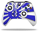 Rising Sun Japanese Flag Blue - Decal Style Skin fits Microsoft XBOX One S and One X Wireless Controller