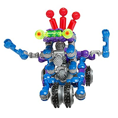 ZOOB BuilderZ ZOOB Bot Moving Building Modeling System, 54 Piece Kids Construction Set: Toys & Games