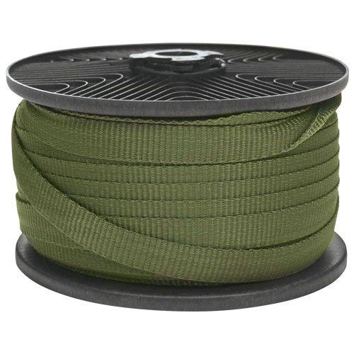 A.M. Leonard Tree Tie Webbing - 250 Feet, Green (Leonard Ties)