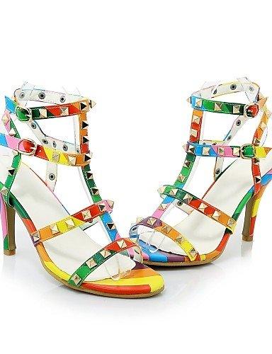 ZQ zapatos de las mujeres de la PU de los talones de primavera / verano / oto?o / cargadores de la manera talones de la boda / , white-us8 / eu39 / uk6 / cn39 , white-us8 / eu39 / uk6 / cn39 white-us5 / eu35 / uk3 / cn34