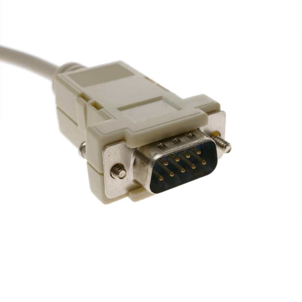 C/âble s/érie avec connecteur DB9 m/âle /à m/âle 1.8m BeMatik