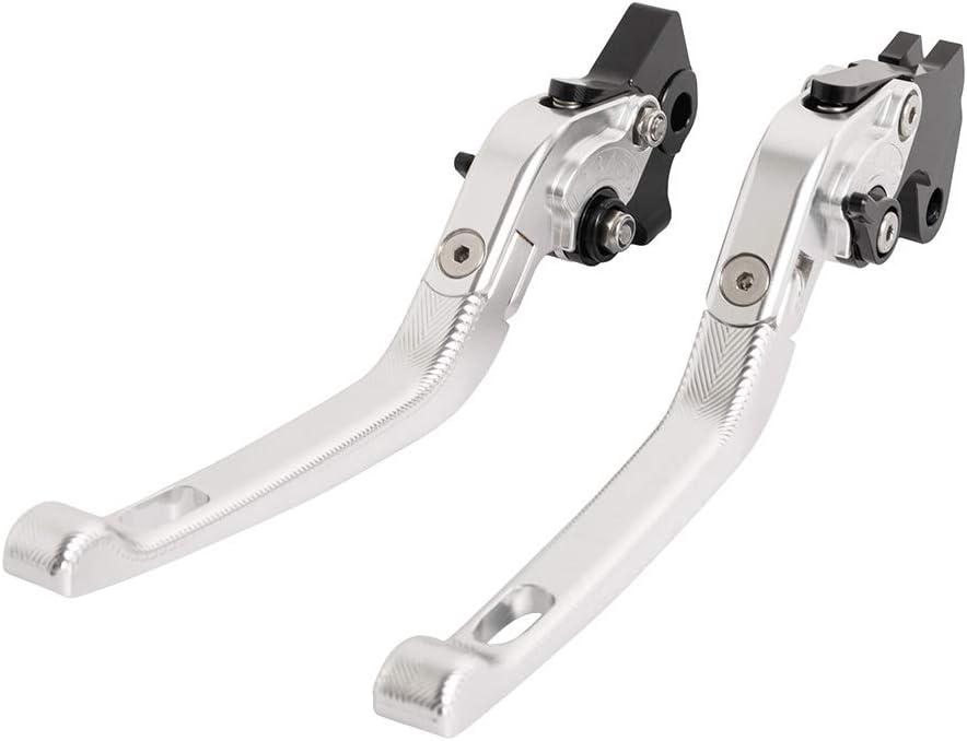 3D Accessori in alluminio per moto Maniglia del freno del motociclo leva della frizione per Yamaha YZF R125 2008-2011 Arancia
