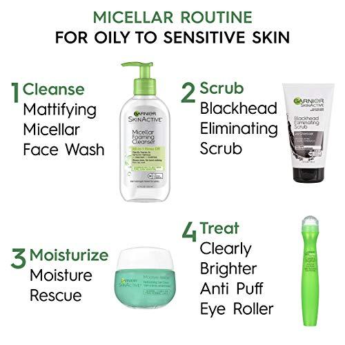 Garnier SkinActive Micellar Foaming Face Wash, For Oily Skin, 6.7 fl oz 6