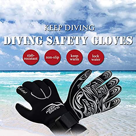 KEEP DIVING M Neopreno Scuba Dive Gloves Los Equipos de ...