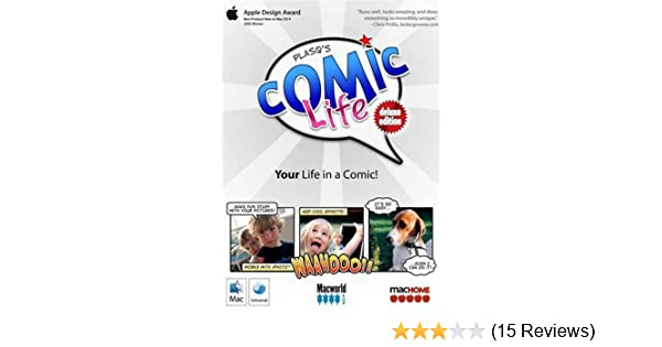 Comic Life Deluxe: Comic Strip, Comic Book Creator (Mac)