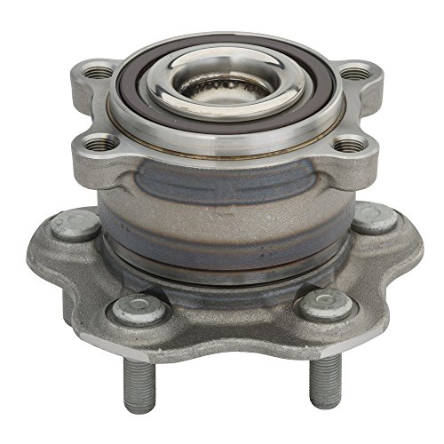 Rear Wheel Spindle - Detroit Axle - 2WD Only Rear Driver or Passenger Side Complete Wheel Hub and Bearing Assembly fits Nissan & Infiniti Vehicles