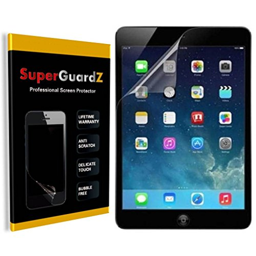 [3-PACK] For iPad Air 2 & 1 - SuperGuardZ® Screen Protector, Ultra Clear, Anti-Scratch, Anti-Bubble [Lifetime Warranty]